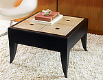 Wood Coffee Table by Kevin Irvin