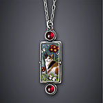 Silver & Stone Necklace by Dawn Estrin