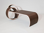 Wood Coffee table by Kino Guerin