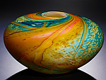 Art Glass Vessel by John & Heather  Fields