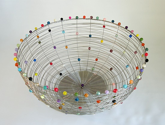 Nest Basket, Stainless Steel - Metal Basket - by Sally Prangley