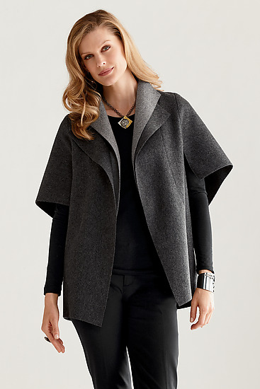 Peel in Charcoal - Wool Jacket - by Teresa Maria Widuch