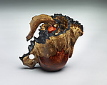 Wood Teapot by Clifford Lounsbury