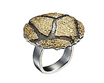 Gold & Silver Ring by Jenny Reeves