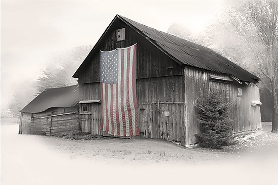 Faded Glory - Black & White Photograph - by Jim Bremer