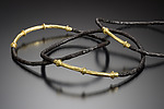Gold & Steel Bracelet by Robin Cust