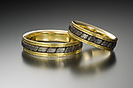 Gold & Steel Ring by Robin Cust
