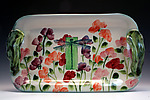 Ceramic Tray by Peggy Crago