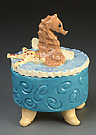 Ceramic Box by Lisa Scroggins