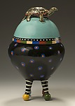 Ceramic Jar by Lisa Scroggins