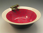 Ceramic Bowl by Lisa Scroggins