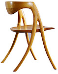 Wood Chair by David N. Ebner