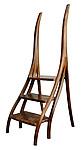 Wood Step-Stool by David N. Ebner