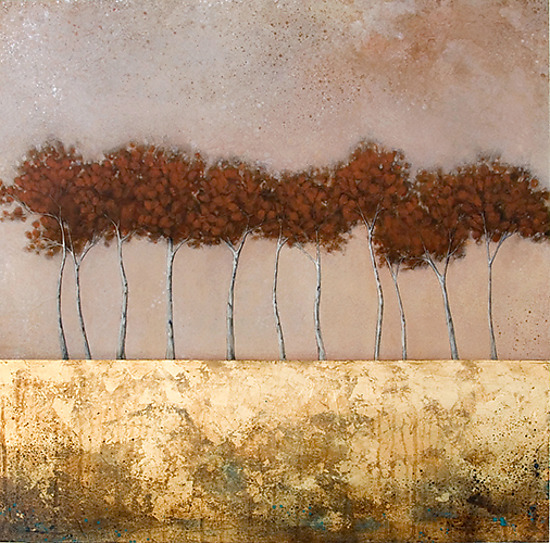 Rooted in Time - Giclee Print - by Jessica Pisano