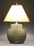 Ceramic Table Lamp by Jim and Shirl Parmentier