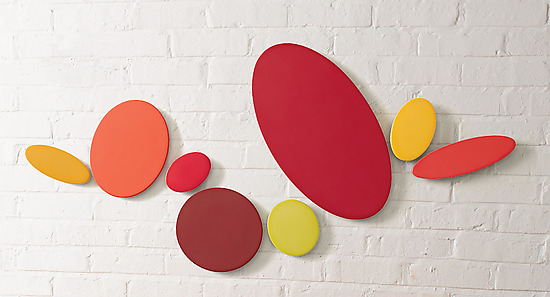 Reds (8) - Ceramic Wall Art - by James Aarons