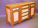 Wood Sideboard by John Wesley Williams