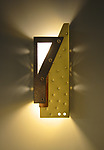 Metal Sconce by Dale Jenssen