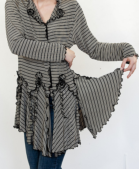 Breezy Cardigan - Knit Cardigan - by Giselle Shepatin