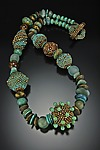 Beaded Necklace by Julie Powell