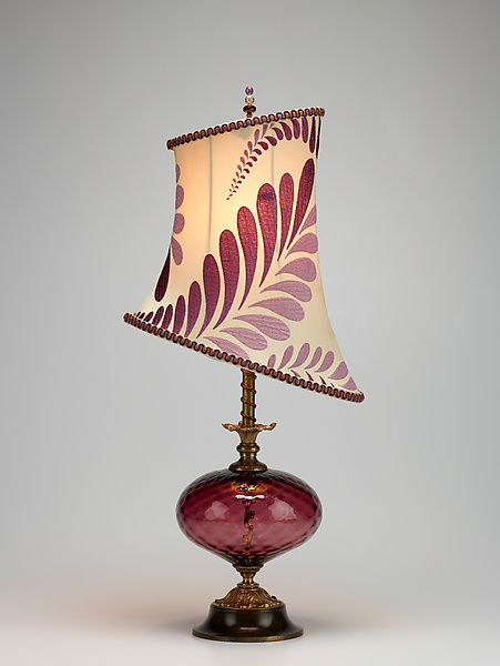 Makaela - Mixed-Media Table Lamp - by Caryn Kinzig and Susan Kinzig