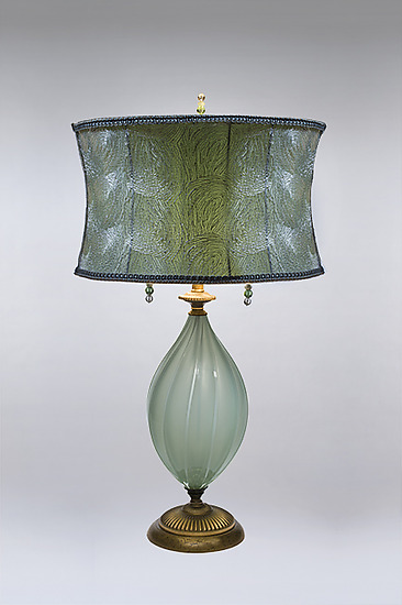 Ava - Mixed-Media Table Lamp - by Caryn Kinzig and Susan Kinzig
