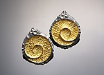 Gold & Silver Earrings by So Young Park