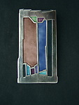 Silver & Enamel Brooch by Carly Wright