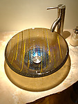 Art Glass Sink by Mark Ditzler