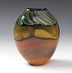 Art Glass Vase by Steven Main