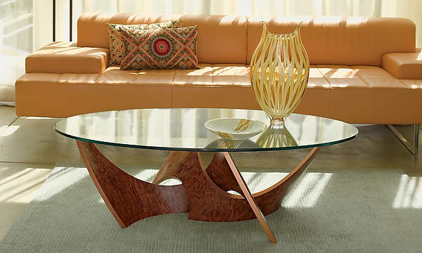 Intertwined Coffee Table - Wood Coffee Table - by Blaise Gaston