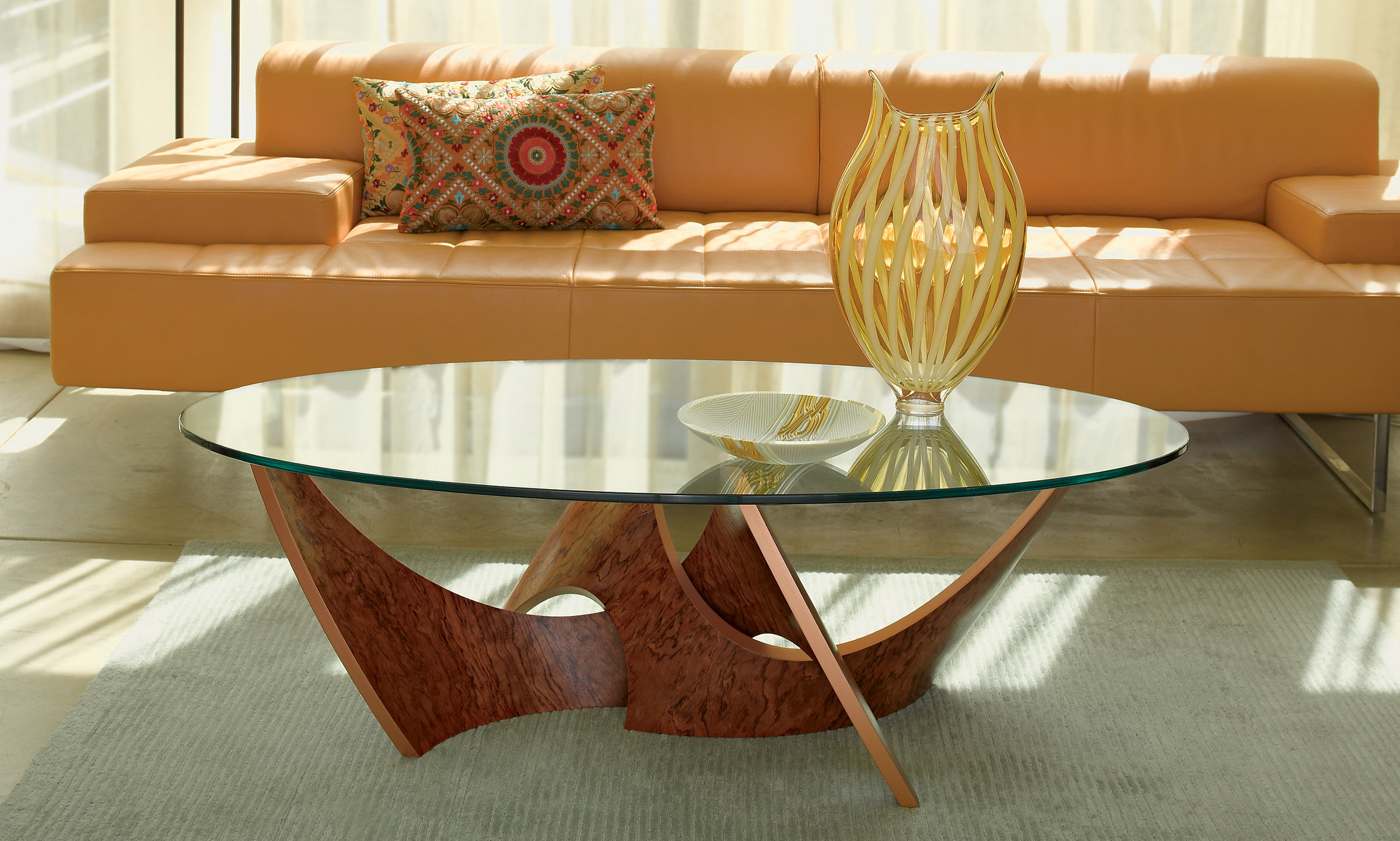 Intertwined Coffee Table by Blaise Gaston (Wood Coffee