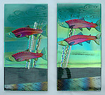 Art Glass Wall Art by Mark Ditzler