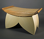 Wood Bench by Douglas W. Jones