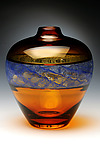 Art Glass Vessel by David Russell