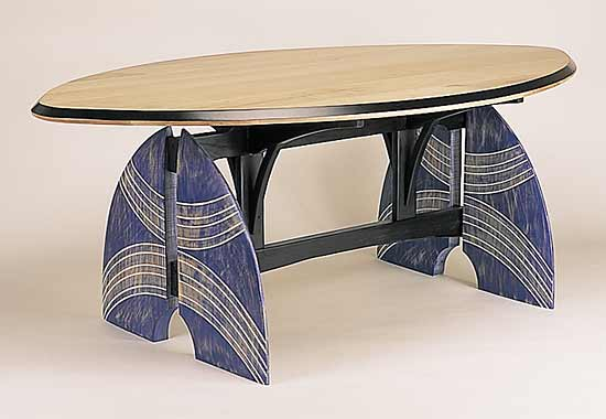 Table for my Tribe - Wood Table - by Erik Wolken