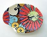 Ceramic Tray by Regina Farrell