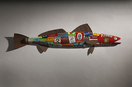 Sea Bass - Metal Wall Art - by Paul Sumner