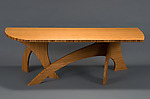 Wood Coffee Table by Seth Rolland