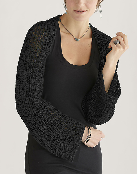 Simple Sleeves - Knit Sweater - by Amy Brill