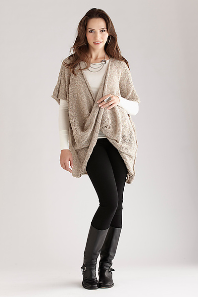 Twist Front Sweater - Sweater - by Amy Brill