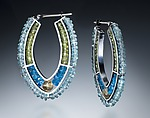 Beaded Earrings by Susan Kinzig