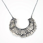 Silver Necklace by Ashley Vick