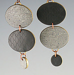 Polymer Clay Earrings by Louise Fischer Cozzi