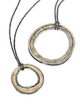 Gold & Silver Necklace by Jenny Reeves