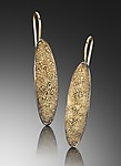 Gold & Silver Earrings by Jenny Reeves