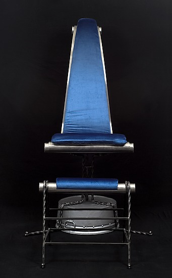 The Take Off - Mixed Media Chair - by Nathalie Guez