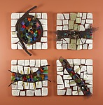 Art Glass & Metal Wall Art by Nina  Cambron