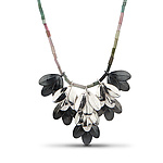 Silver & Stone Necklace by Jamie Cassavoy