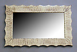 Wood Mirror by Cosmo Barbaro